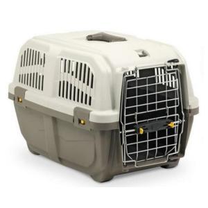 Переноска для собак и кошек MPS Skudo Prestige 2, размер 2, размер 55х36х35см., коричневый