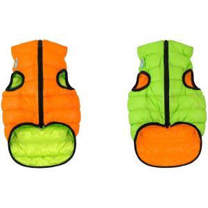 Куртка для собак AiryVest 1621 M, оранжево-салатовый