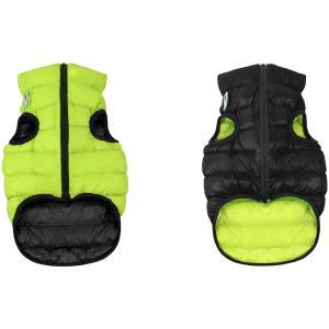Куртка для собак AiryVest 1684 M, cалатово-черный