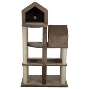 Домик для кошек Trixie Roja, размер 165см., коричневый / бежевый
