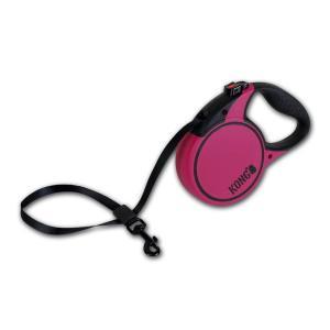Поводок-рулетка для собак Kong TERRAIN S, розовый