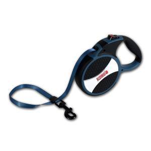 Поводок-рулетка для собак Kong EXPLORE L, синий