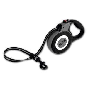 Поводок-рулетка для собак Kong REFLECT L, серый