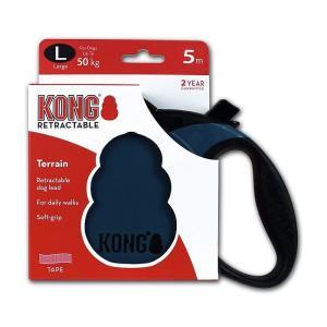 Поводок-рулетка для собак Kong TERRAIN L, синий