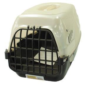 Переноска для собак и кошек Homepet Путешественник, размер 50х33х35см., бежевый