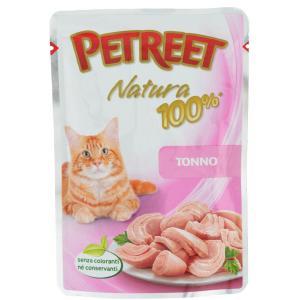 Корм для кошек Petreet Natura, 70 г, тунец