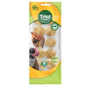 Лакомства для собак Triol, 15 г, сыромятная кожа, 6 шт.