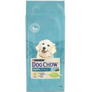 Корм для щенков Purina Dog Chow Puppy Junior, 14 кг, курица