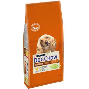 Корм для собак Purina Dog Chow Adult Mature, 14 кг, курица