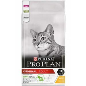 Корм для кошек Pro Plan Adult, 10 кг, курица