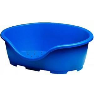 Лежак для собак и кошек Marchioro Perla, размер 6, размер 91х63х30см., синий