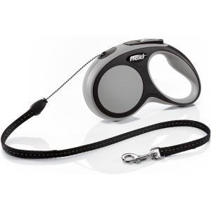 Рулетка для собак Flexi Flexi New Comfort S, серый