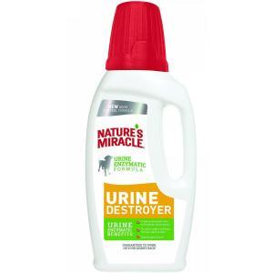Уничтожитель пятен, запахов и осадка от мочи собак 8 in 1 Urine Destroyer, 945 мл