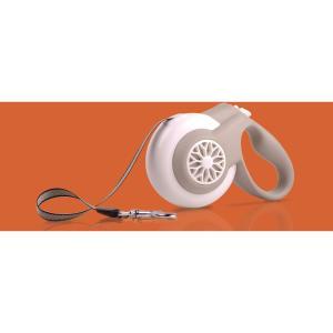 Поводок-рулетка для собак Fida Smart Walk, белая