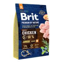 Фотография товара Корм для щенков Brit Premium by Nature Junior M, 3 кг, курица