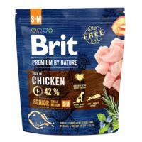 Фотография товара Корм для собак Brit Premium by Nature Senior S/M, 1 кг, курица