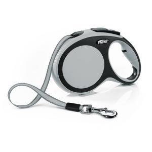 Поводок-рулетка для собак Flexi New Comfort M, серый