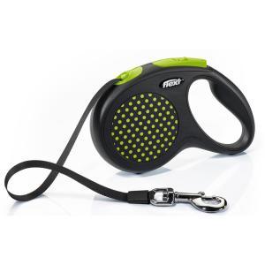 Поводок-рулетка для собак Flexi Design Classic M, зеленый