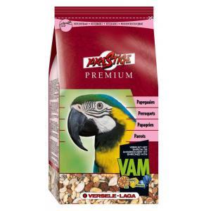 Корм для попугаев Versele-Laga Prestige Premium Parrot, 1 кг, злаки, семена