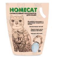 Фотография товара Наполнитель для кошачьего туалета Homecat Стандарт, 1.8 кг