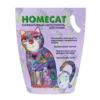 Фотография товара Наполнитель для кошачьего туалета Homecat Лаванда, 1.8 кг