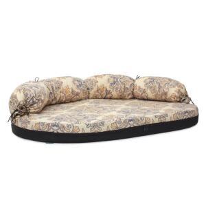 Лежак-диван для собак Гамма Фаворит Медиум, размер 2, размер 100х66х8см., цвета в ассортименте