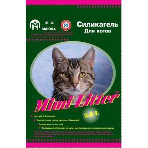 Наполнитель для кошачьего туалета Mimi Litter Зеленые гранулы, 1.8 кг