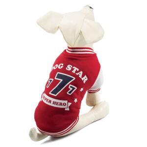 Куртка-бомбер для собак Triol Dog Star XXL, размер 45см.