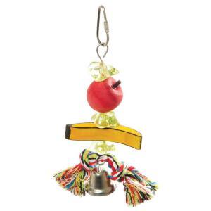 Игрушка для птиц Triol Ветка с фруктами, размер 16/19х6.5см.