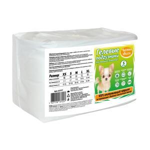 Подгузники для собак Чистый Хвост, размер  S, 16 шт.