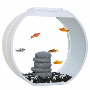 Аквариум для рыб AA-Aquarium Deco O UPG, размер 39.5x18.7x37.5см., белый