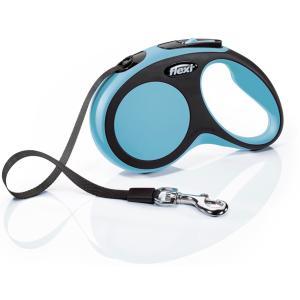 Поводок-рулетка для собак Flexi New Comfort S Tape, синий