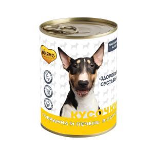 Корм для собак Мнямс Здоровые Суставы, 400 г, говядина с печенью