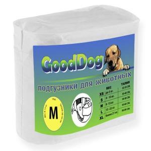 Подгузники для собак GoodDog M