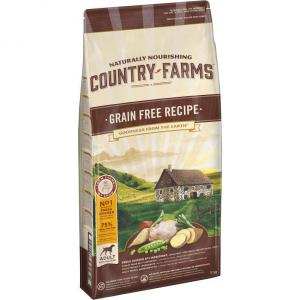 Корм для  собак Country Farms, 11 кг, курица