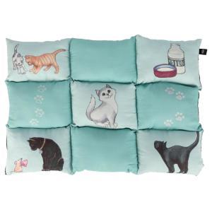 Лежак для кошек Trixie Patchwork Cat, размер 70×55см., мятный