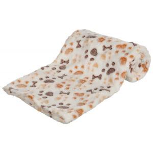 Лежак для собак Trixie Lingo M, размер 75x50см., белый / бежевый