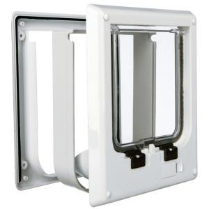 Дверца для кошек Trixie 4-Way Cat Flap, размер 21.1x24.4см., белый