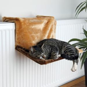 Гамак для кошек Trixie Radiator Bed, размер 45×24×24см., коричневый