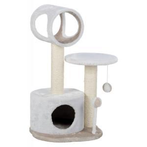 Домик-когтеточка для кошек Trixie Lucia, размер 40х40х75см., белый