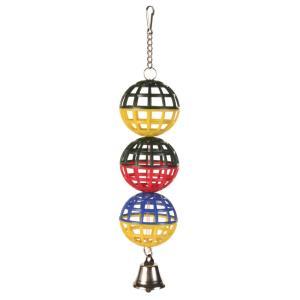 Игрушка для птиц Trixie 3 Lattice Balls, размер 16см.