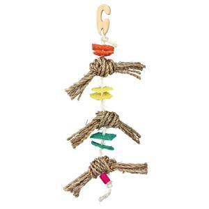 Игрушка для птиц Trixie Natural Toy, размер 43см.
