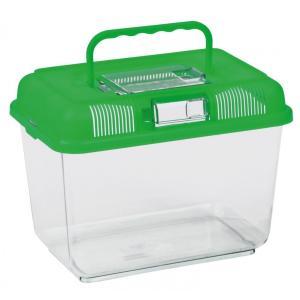 Переноска для рептилий Trixie Transport and Feeding Box M, размер 24х17х16см., цвета в ассортименте