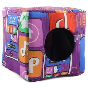 Домик для собак и кошек Гамма Дг-05900 L, размер 40х40х40см., цвета в ассортименте