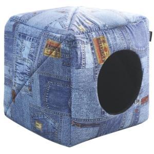 Домик для собак и кошек Гамма Дг-05700, размер 30х30х30см., цвета в ассортименте