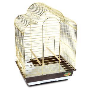 Клетка для птиц Triol 6113G, размер 46.5х36х65см.