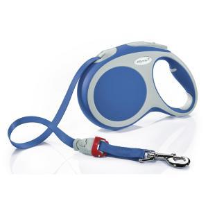 Поводок-рулетка для собак Flexi Vario Tape L, синий