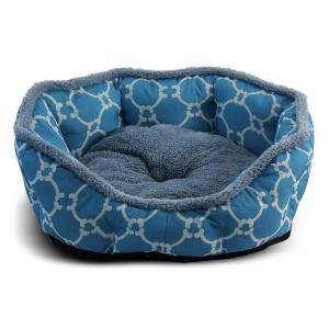 Лежанка для собак и кошек Triol Лазурный берег L, размер 70х65х14см., голубой
