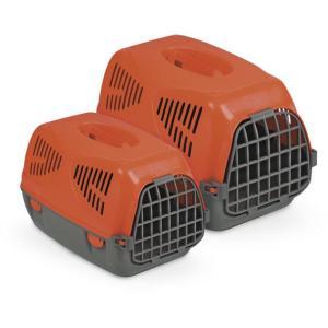Переноска для собак и кошек MPS Sirio Little, размер 50х33.5х31см., красный