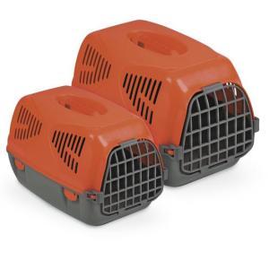 Переноска для собак и кошек MPS Sirio Big, размер 64х39х39см., красный